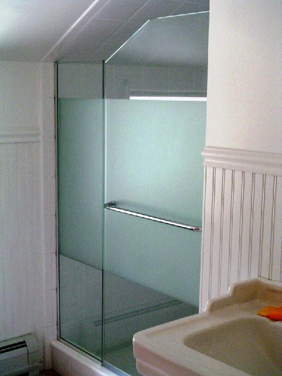 Angled Ceiling Frameless Applications Cold Spring Shower