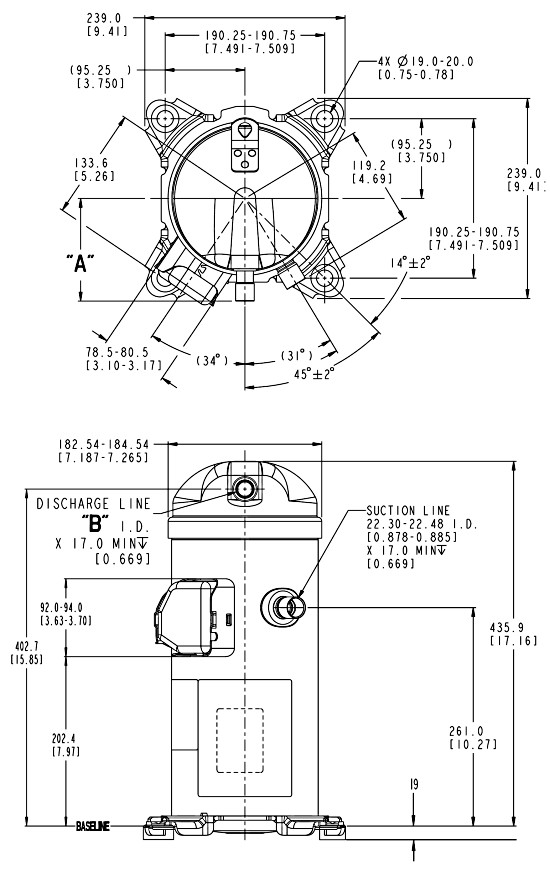 hlp2 - Компрессор Danfoss HLH068