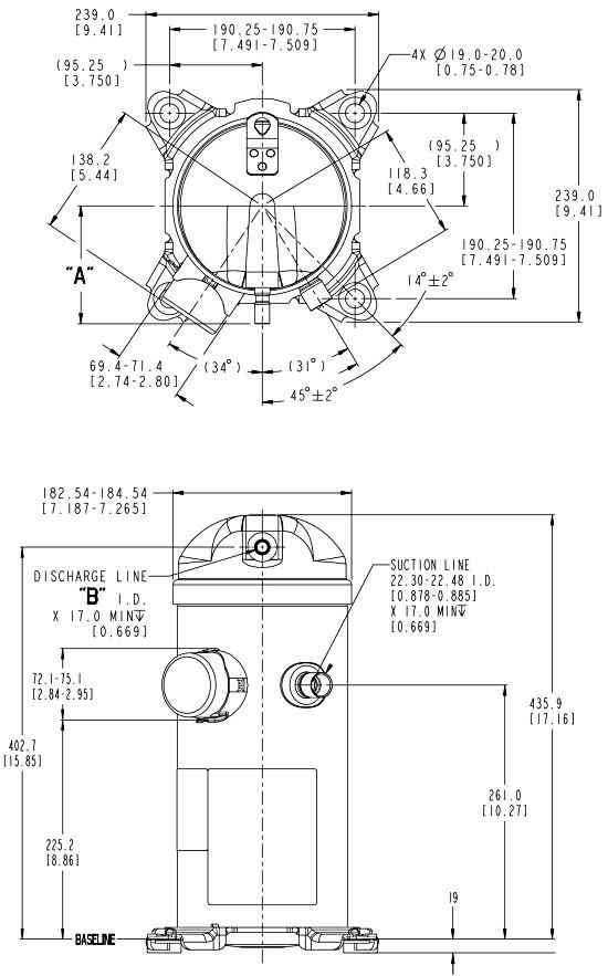 hrh2 - Компрессор Danfoss HLP072