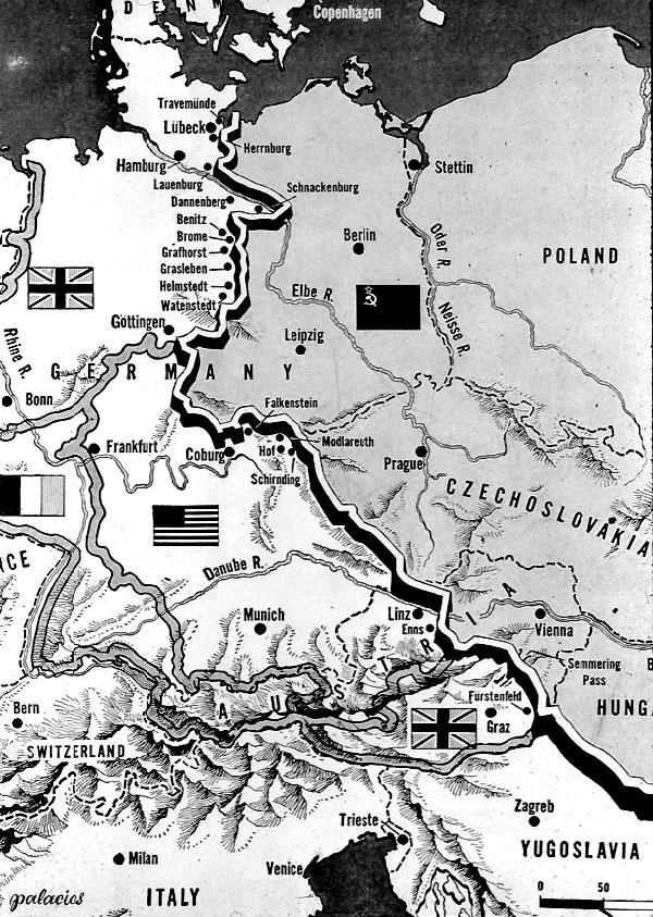 IRON CURTAIN 194689  Cold War