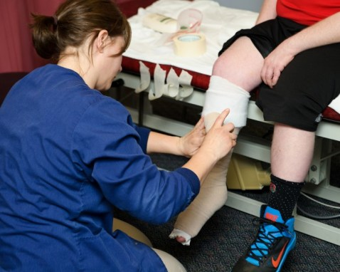 CST Center's Physical Therapist Melanie Sowers, recently completed an extensive 8-day training