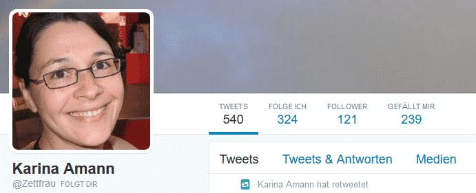Karin Amann Twitter