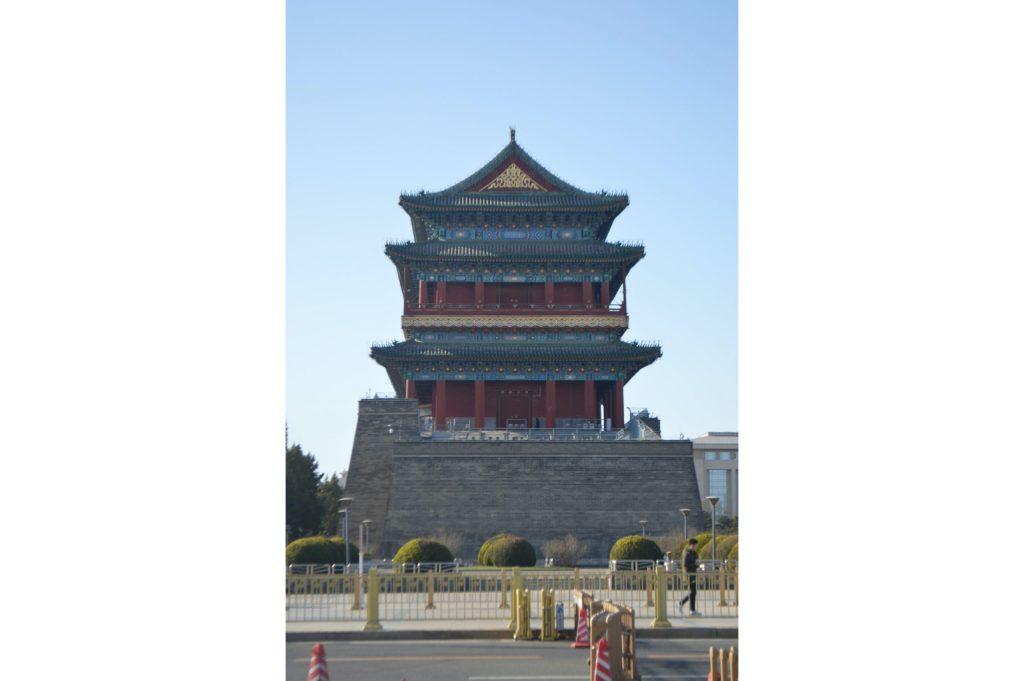 Puerta de Zhengyangmen al sur de Tiananmén