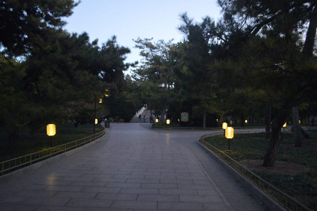 Salida del Palacio de Verano