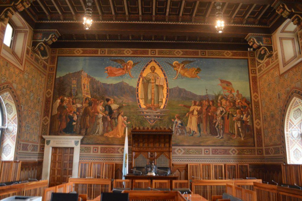 Sala del Consejo Grande y General