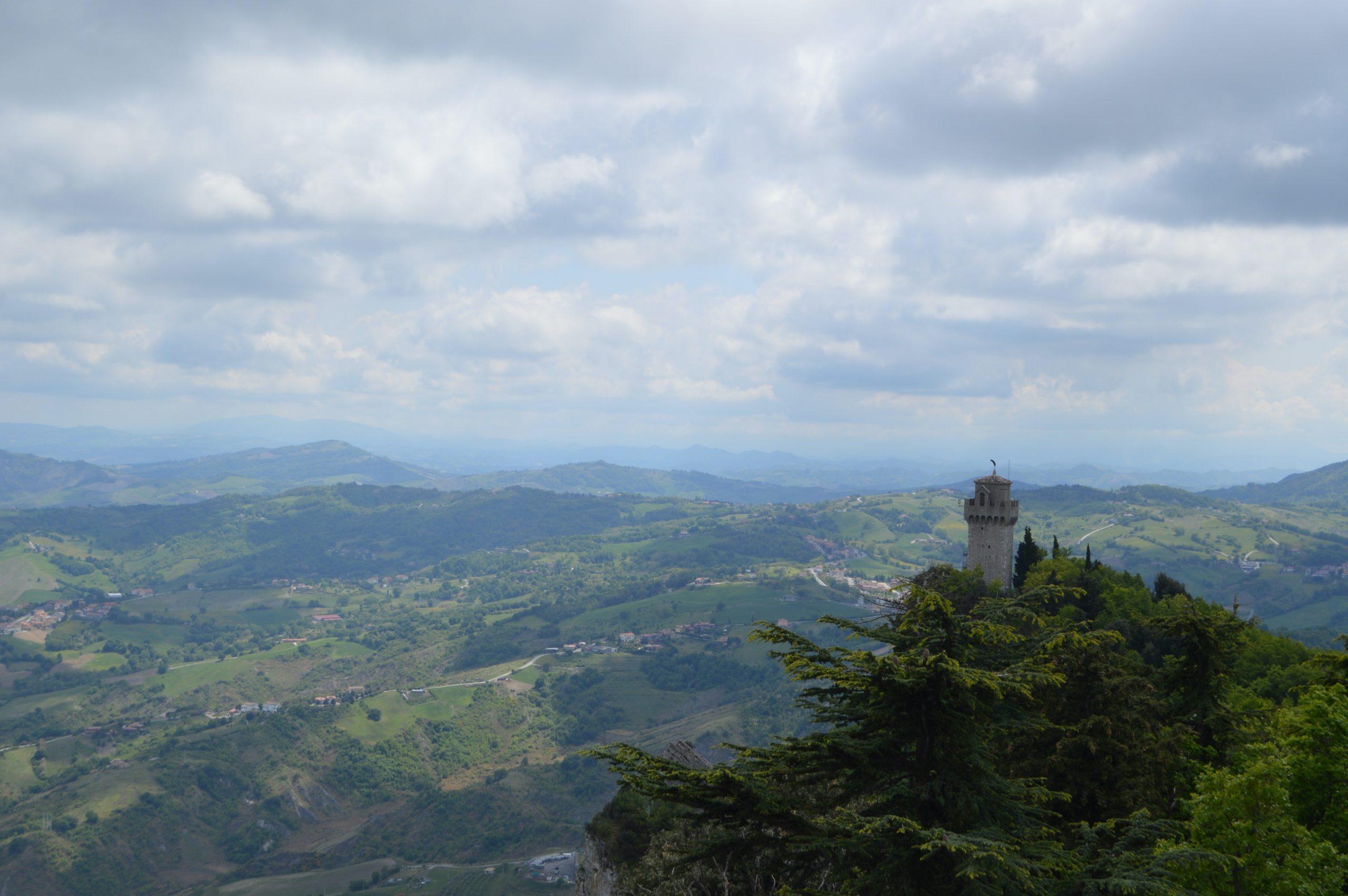 Vistas de Montale desde Fratta