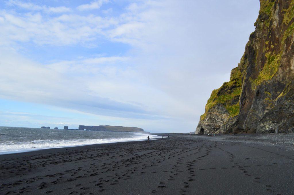 West side of Reynisfjara beach