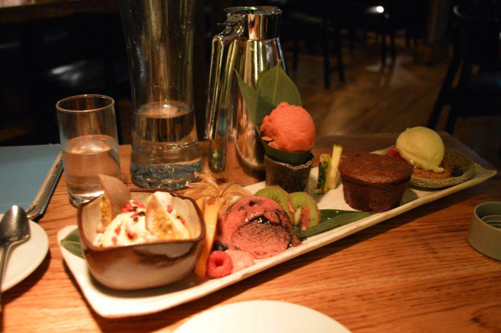Tasting menu at Fiskmarkaðurinn