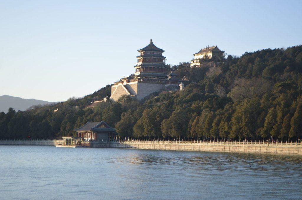 Torre de la Fragancia de Buda en la Colina de la Longevidad