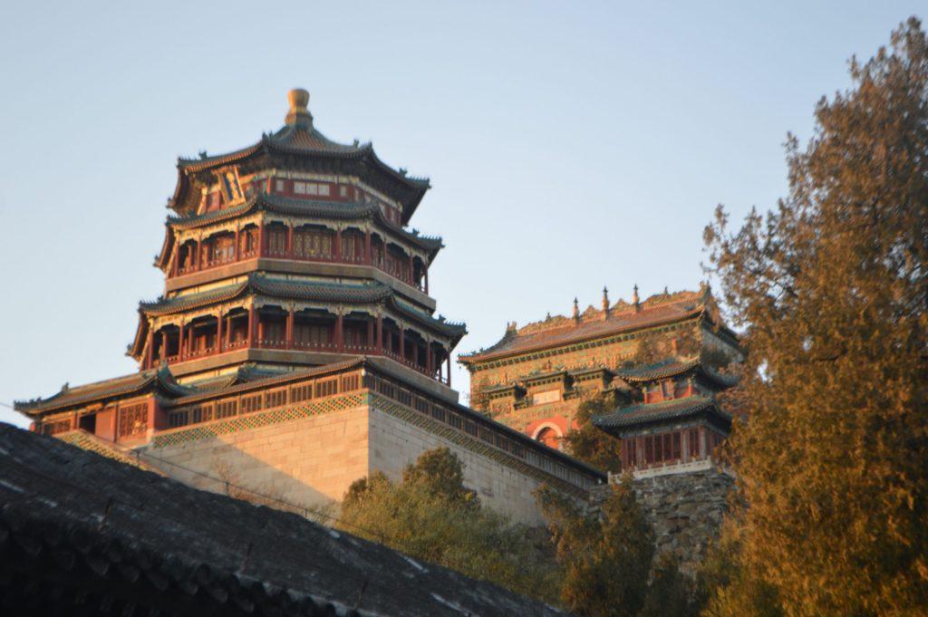 Torre de la Fragancia de Buda y Templo del Mar de la Sabiduría