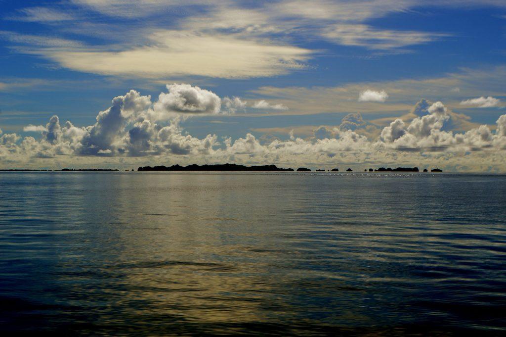 Atardecer en las Islas Rock