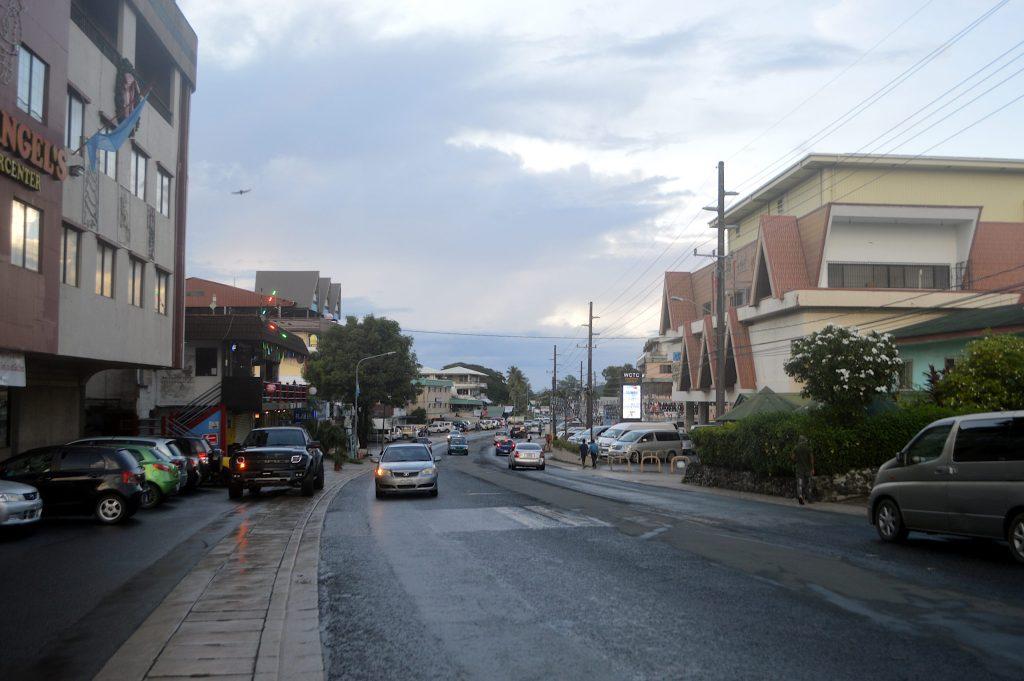 Calle principal de Koror