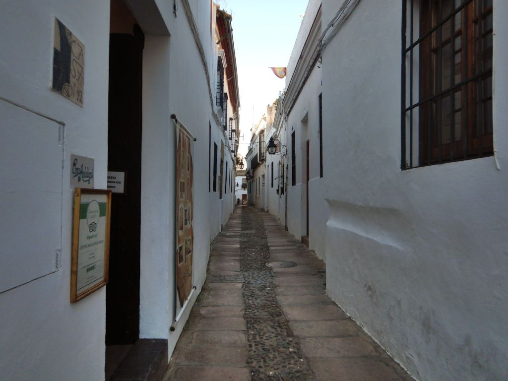 Calles tradicionales en Córdoba
