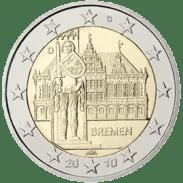 Moneda Conmemorativa de 2 Euros de Alemania 2010 - Bremen