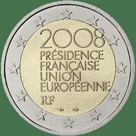 Moneda Conmemorativa de 2 Euros de Francia 2008 - Presidencia Francesa de la UE
