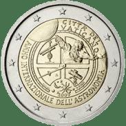 Moneda Conmemorativa de 2 Euros del Vaticano 2009 - Año Mundial de la Astronomía