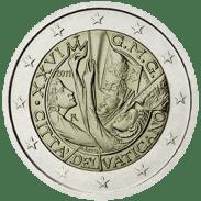 Moneda Conmemorativa de 2 Euros del Vaticano 2011 - XXVI Jornada Mundial de la Juventud