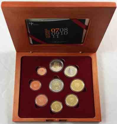 Estuche Proof Holanda 2007 2 Euros Conmemorativos Tratado de Roma