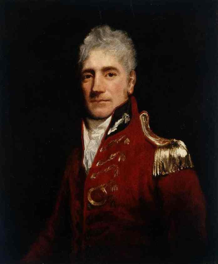 Retrato edl Gobernador Lachlan Macquarie