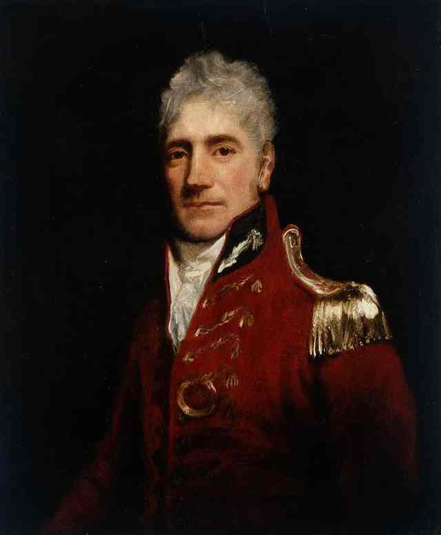 Retrato edl Gobernador Lachlan Macquarie