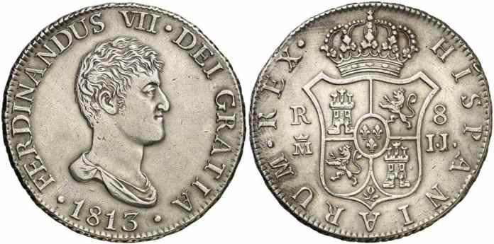 8 reales 1813 Madrid MBC+
