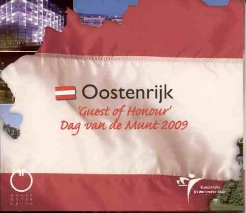 Cartera Día de la Ceca Holanda 2009 2 Euros Conmemorativos UEM
