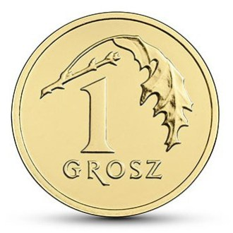 Polonia, 1 Grosz Serie 2017, Reverso