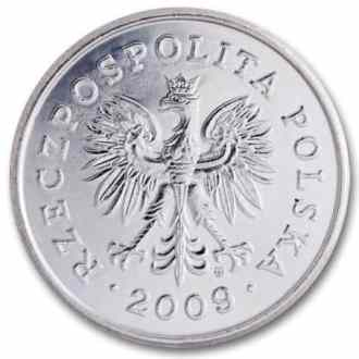 Polonia, 1 Zloty Serie 1995, Anverso