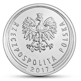 Polonia, 10 Groszy Series 2017-2020, Anverso