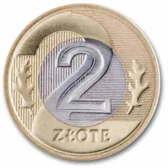 Polonia, 2 Zlote Serie 1995, Reverso