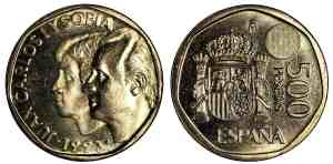 500 pesetas 1993