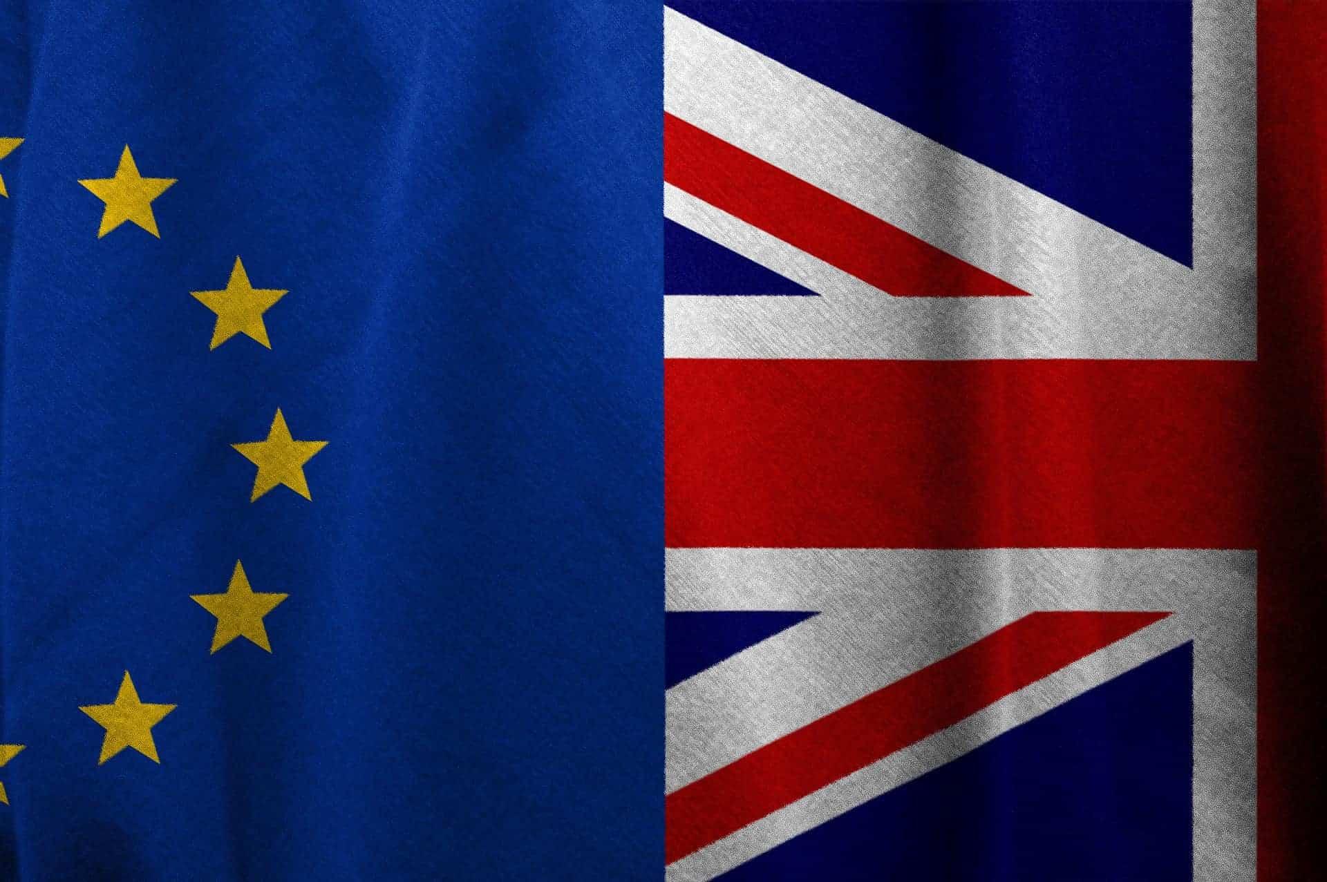 La relación del Reino Unido con la Unión Europea en 4 monedas de 50 peniques