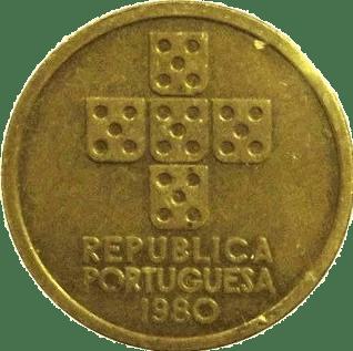 1 Escudo 1980 Portugal