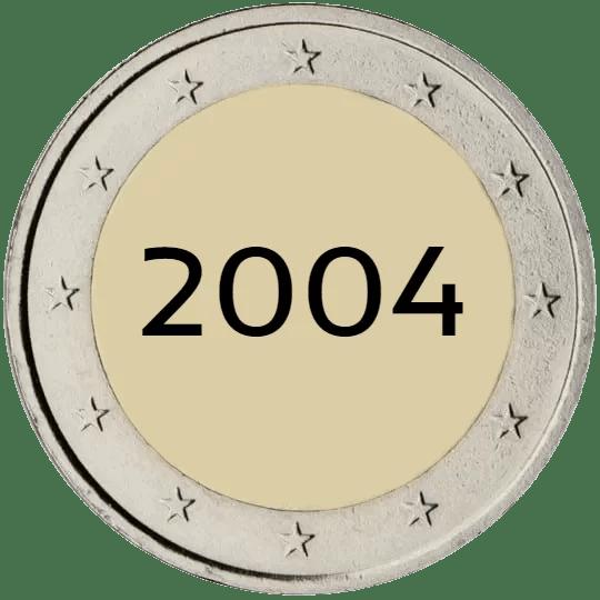 Lista de Monedas Conmemorativas de 2 Euros de 2004