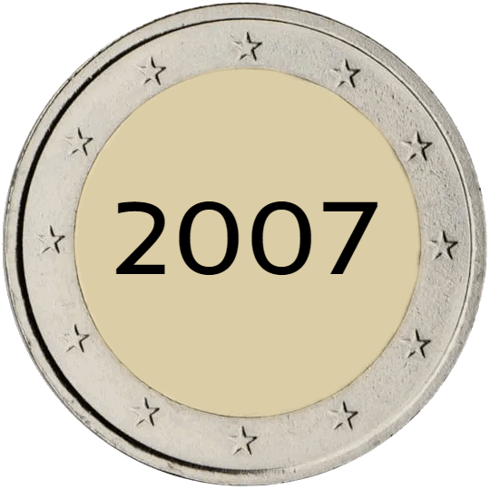 Lista de Monedas Conmemorativas de 2 Euros de 2007