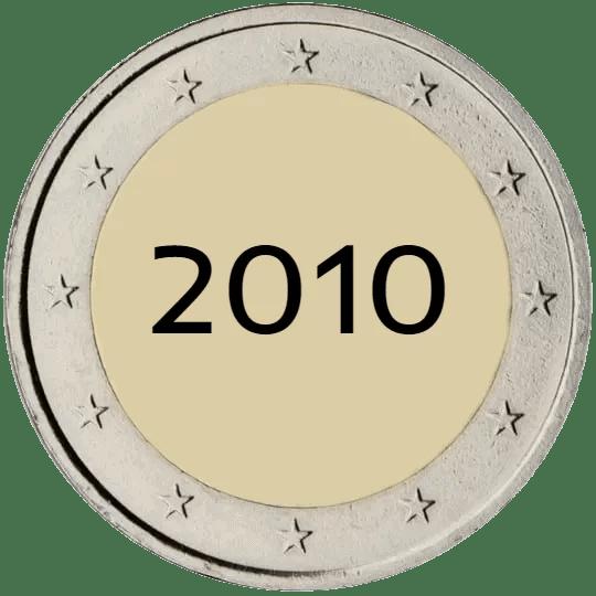Lista de Monedas Conmemorativas de 2 Euros de 2010