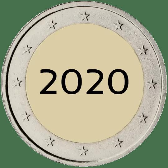 Lista de Monedas Conmemorativas de 2 Euros de 2020