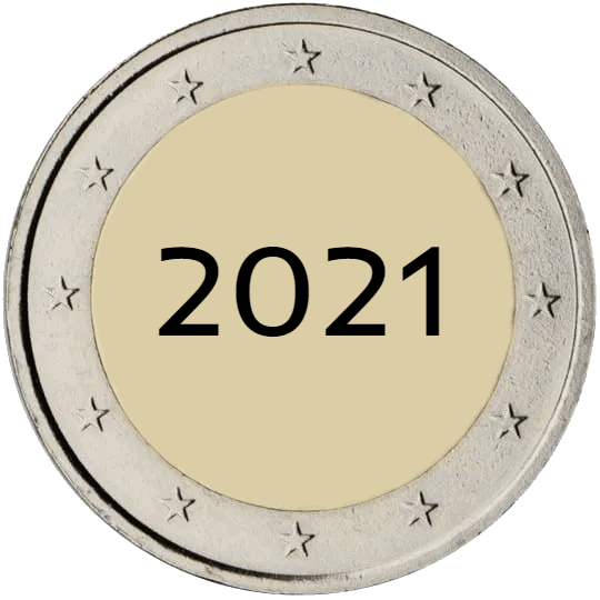 Lista de Monedas Conmemorativas de 2 Euros de 2021