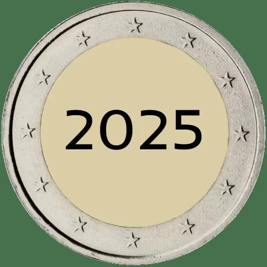 Lista de Monedas Conmemorativas de 2 Euros de 2025