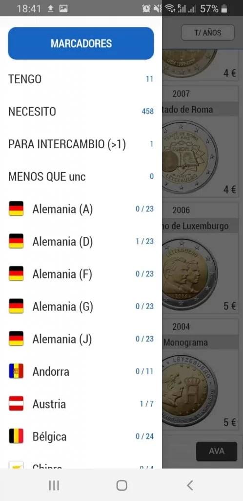Análisis App 2 Euro