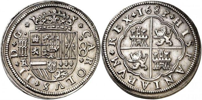 8 reales 1683 segovia