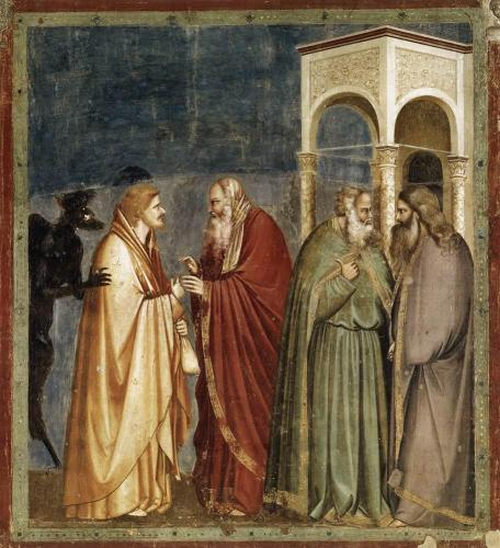 La Traición de Judas, Giotto