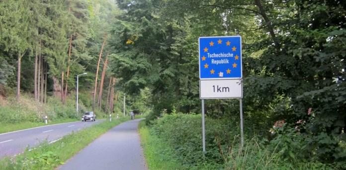 Frontera Chequia - Alemania