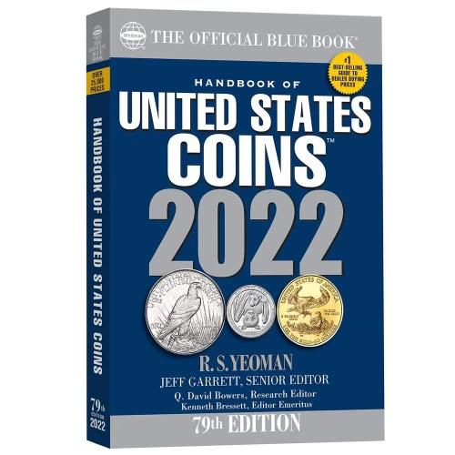 Blue Book US Coins Tapa Blanda