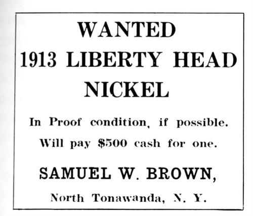 Anuncio Liberty Head 1913