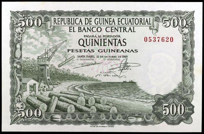 500 Pesetas Guineanas