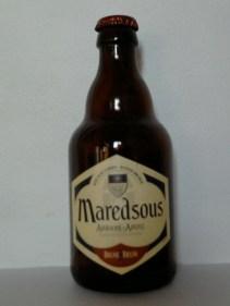 Maredsous brune bruin . Belgica . 8%