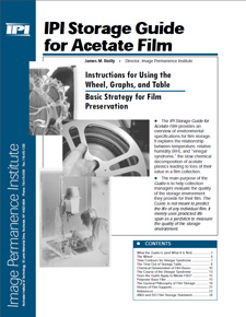 IPI Storage Guide for Acetate Film
