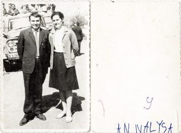 Cuplu. Annalysa Costică Acsinte din casele noastre Arhiva personală Maura Aron, Grivița