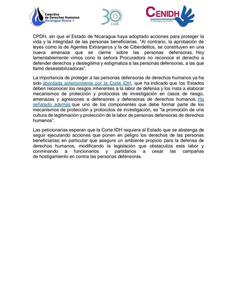 060521 Comunicado2 AudCorteIdh Cejil Colectivo Cenidh